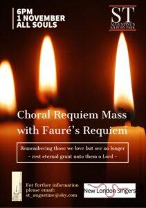 Faure Requiem Flyer